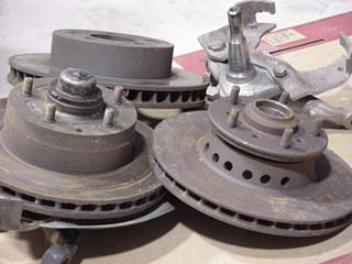 three rotors and spindle