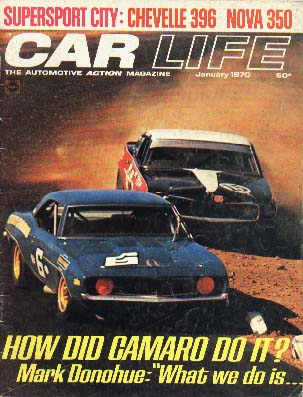 car life magazine cover 1970
